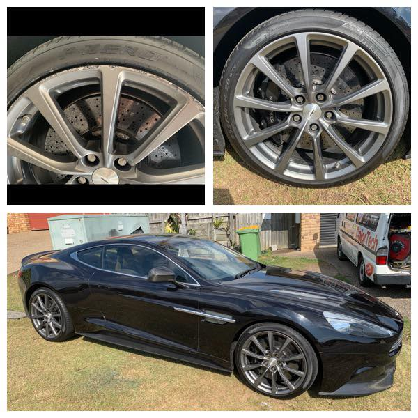 Aston Martin Mobile Rim Repairs Gold Coast 0402029277