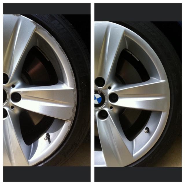 BMW Alloy Rim Repairs Gold Coast 0402029277