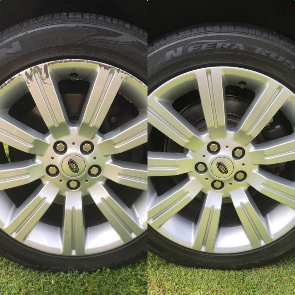 Land Rover Alloy Rim Repair gold coast 0402029277