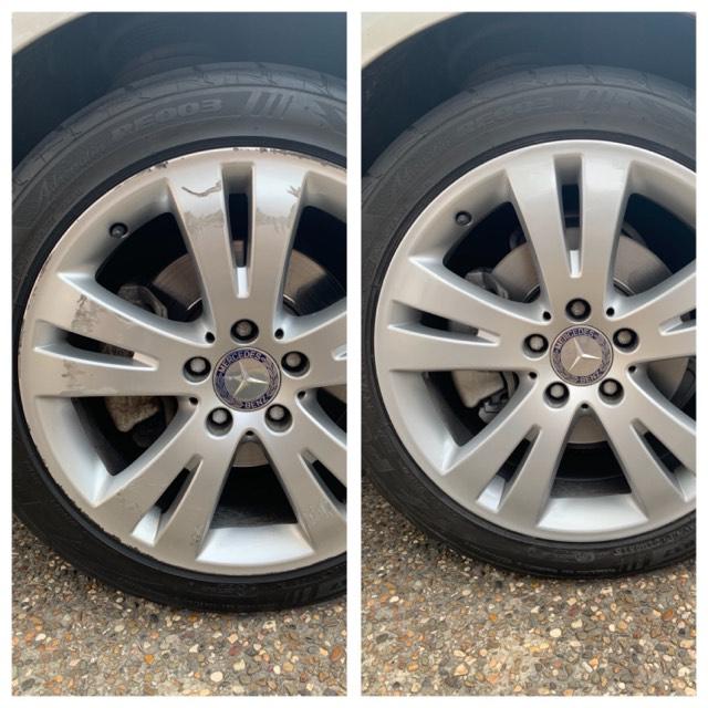 Mercedes Alloy Rim Repair Gold Coast 0402029277