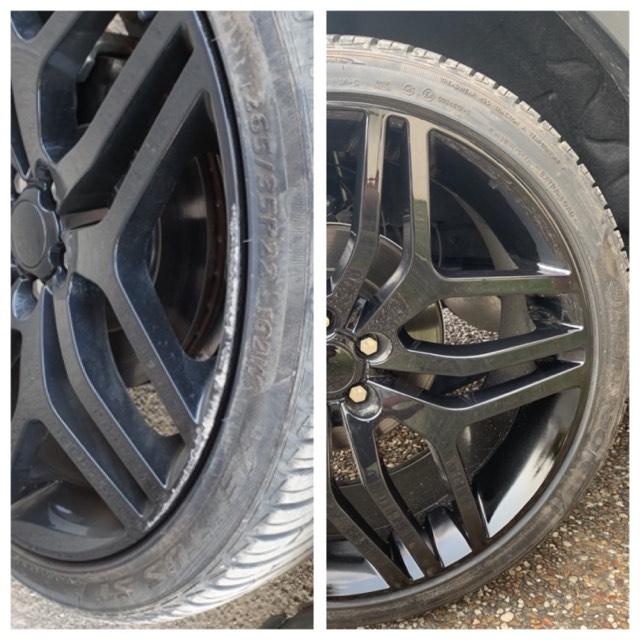 Range Rover Alloy Wheel Repair Gold Coast 0402029277