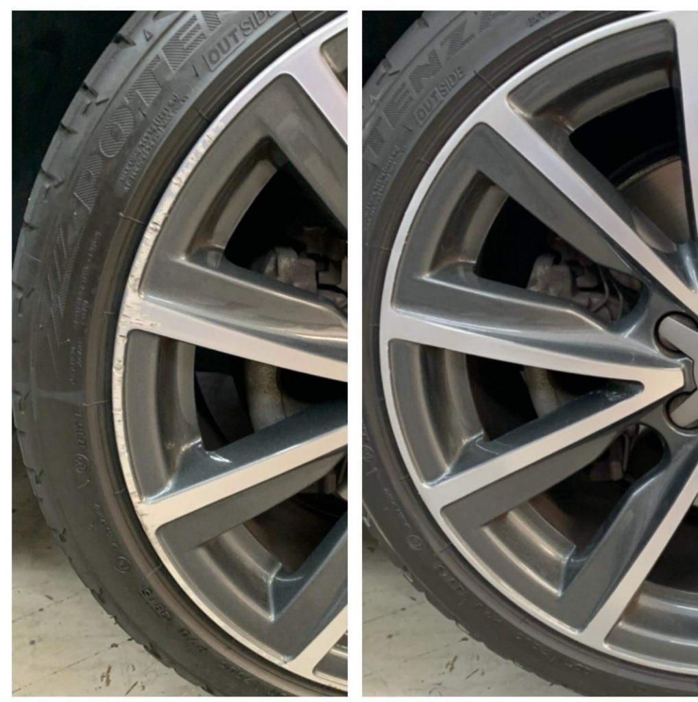 Scratched wheel repair Gold Coast 0402029277