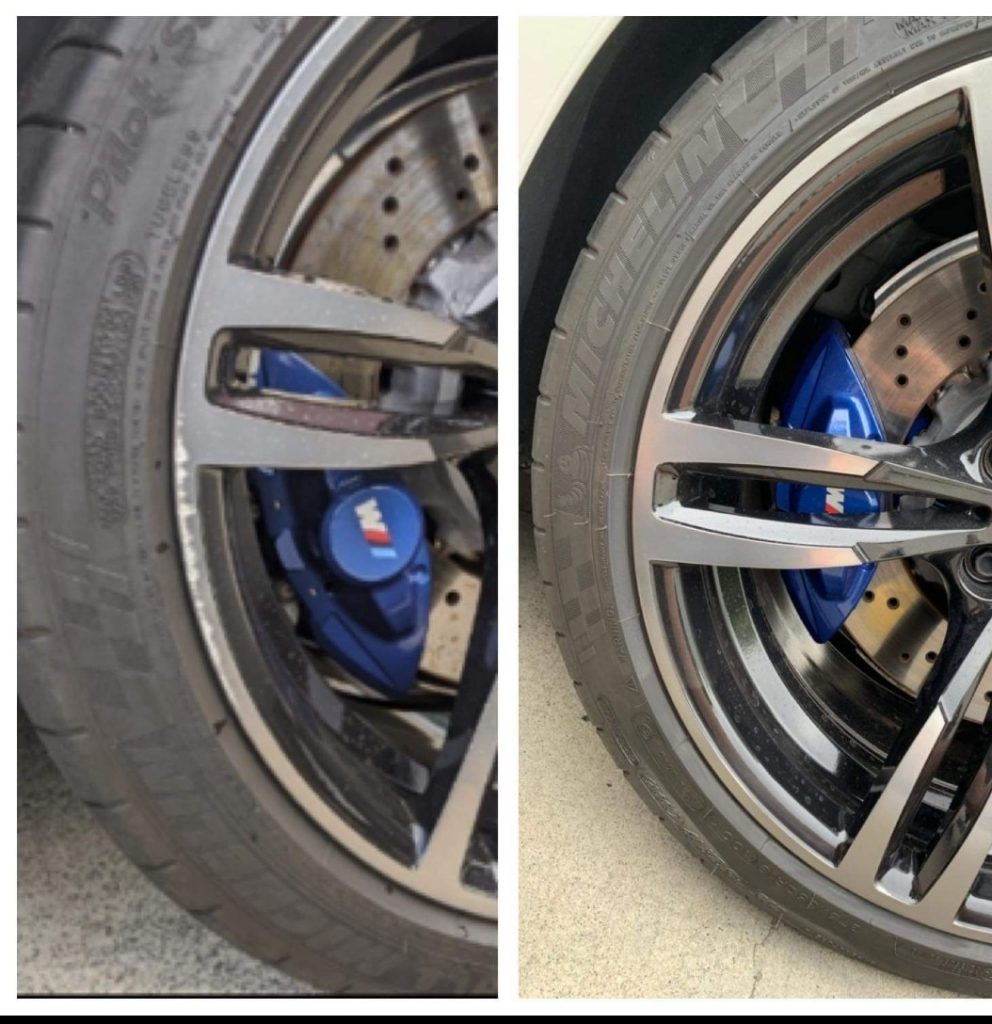 Mobile scratched wheel repair Gold Coast 0402029277