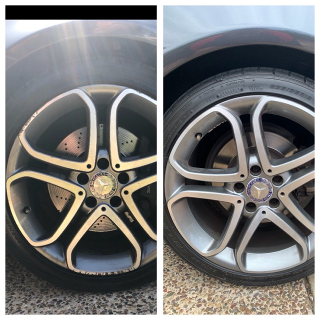 Mobile Mercedes Wheel Repairs Gold Coast 0402029277