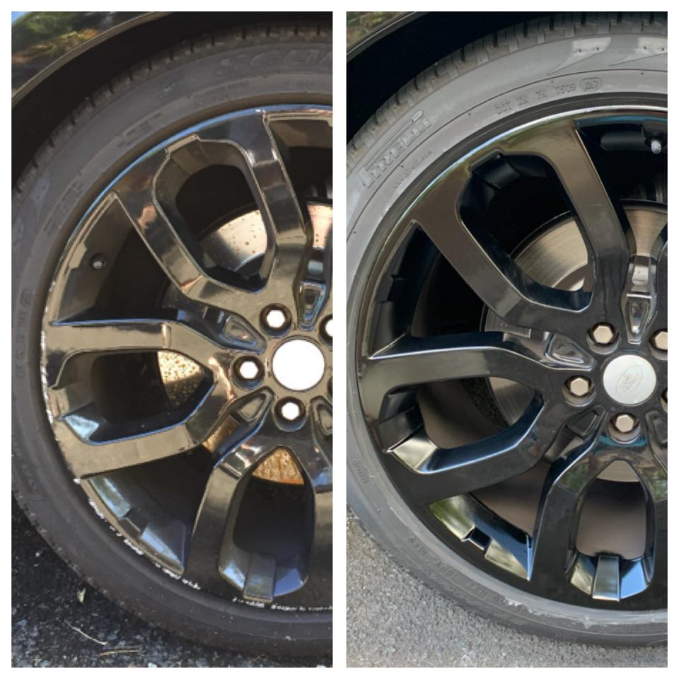 Black rims wheel repairs Gold Coast 0402029277