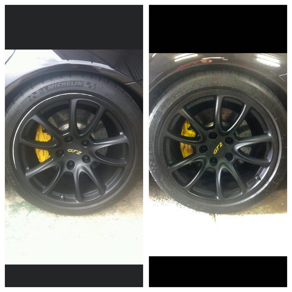 Porsche Wheel Repair Gold Coast 0402029277