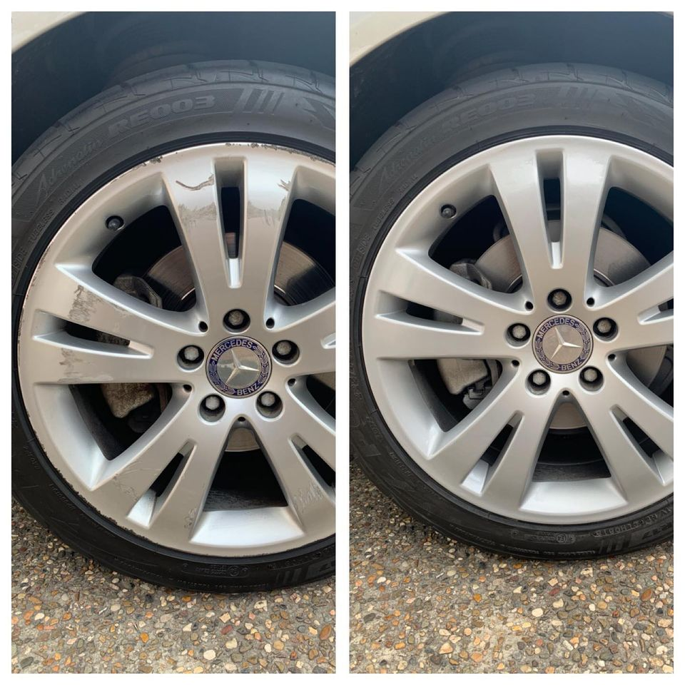 Mercedes Wheel Repair Gold Coast 0402029277