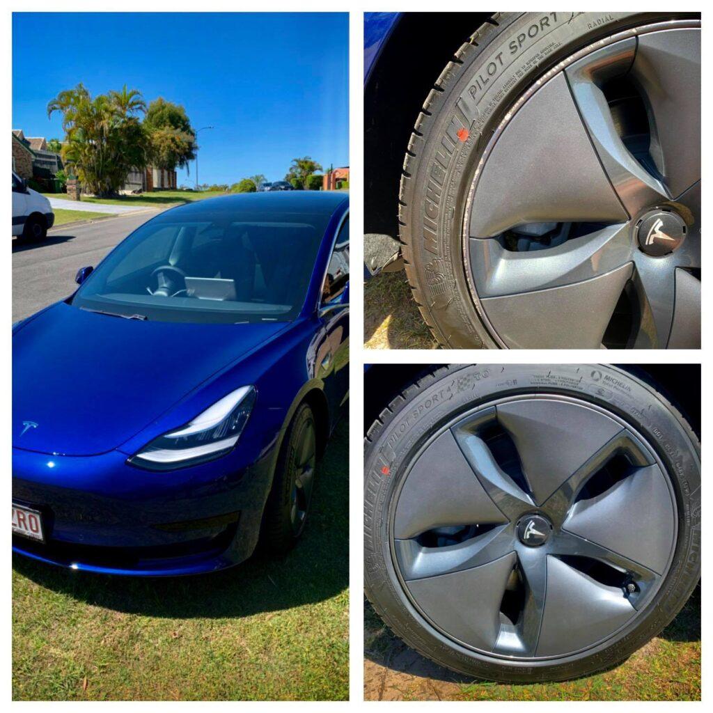 Tesla Wheel Repairs Gold Coast 0402029277