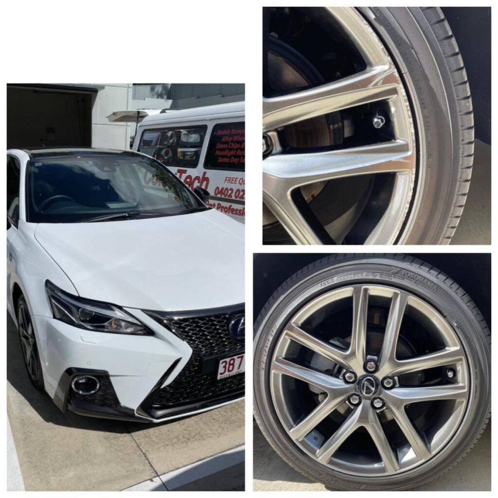 Gold Coast Lexus wheel repairs 0402029277