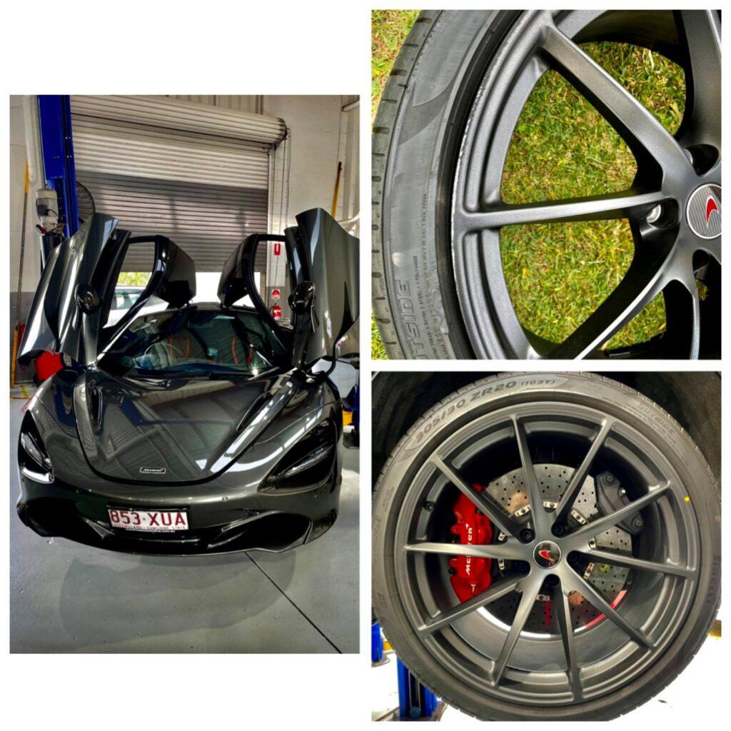 McLaren wheel repairs gold coast 0402029277