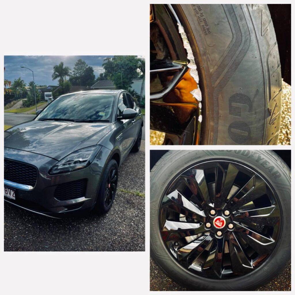 Jaguar Wheel Repairs Gold Coast 0402029277